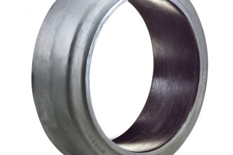 Δακτύλιος προσαρμογής για ηλεκτροκίνητο παλετοφόρο 760mmΧ250mm, από μαύρο λάστιχο