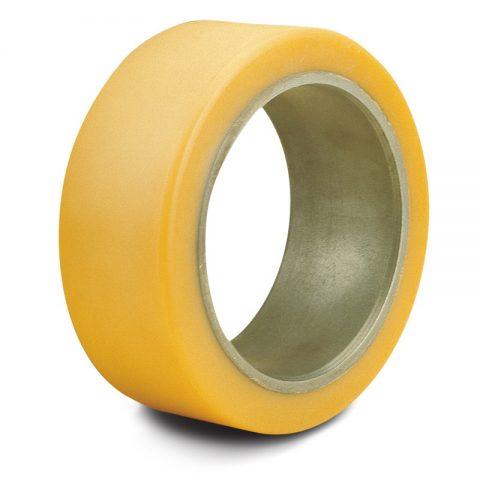 Δακτύλιος προσαρμογής για ηλεκτροκίνητο παλετοφόρο 285mmΧ100mm, από πολυουρεθάνη