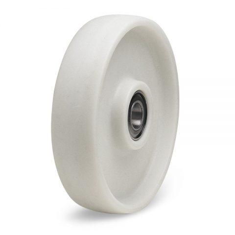 Τροχός 200mm από νάυλον+fiber glass για 130C,με διπλά σφαιρικά ρουλεμάν.