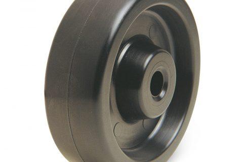 Τροχός για φούρνους 80mm από υλικό υψηλών θερμοκρασιών για 280C,χωρίς ρουλεμάν.